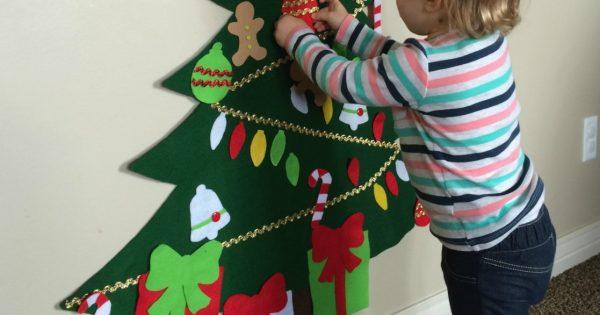 Albero Di Natale X Bambini.Gli Addobbi Per L Albero Di Natale Da Fare Con I Bambini Donna Moderna