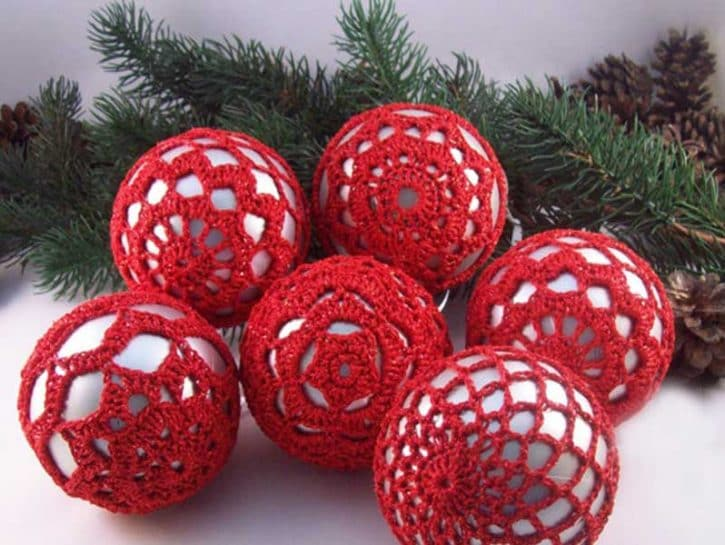 Decorazioni Natalizie Fatte A Mano.Decorazioni Per L Albero Di Natale Fatte A Mano Donna Moderna