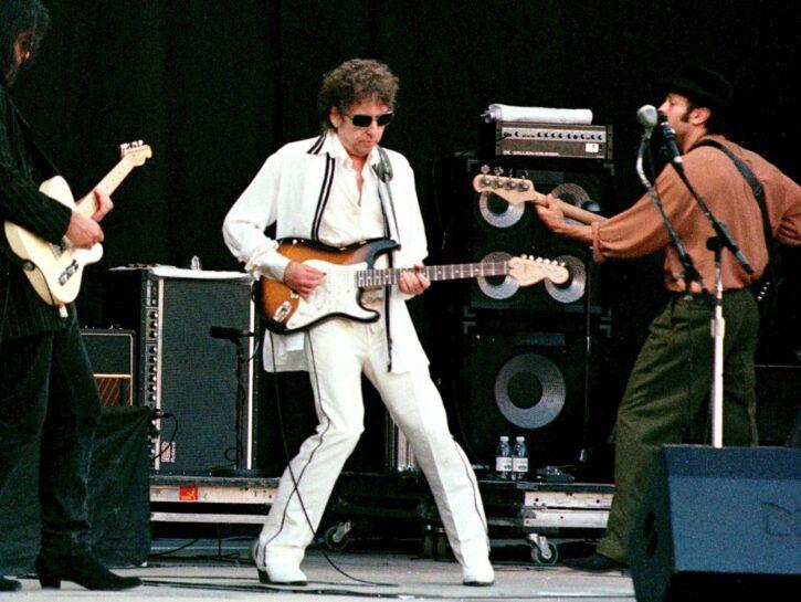 Bob Dylan concerto a Escalarre