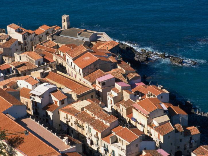 Case città sul mare