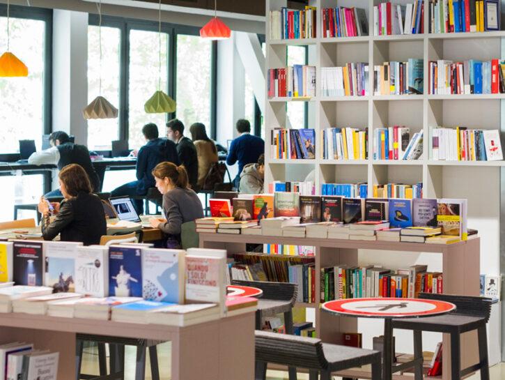 Open bookstore libreria