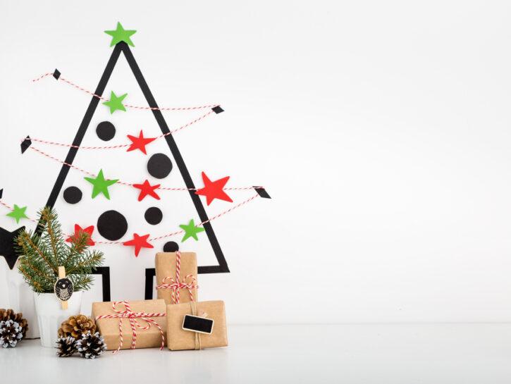 Immagini Alberi Di Natale.7 Alberi Di Natale A Ingombro Zero Donna Moderna