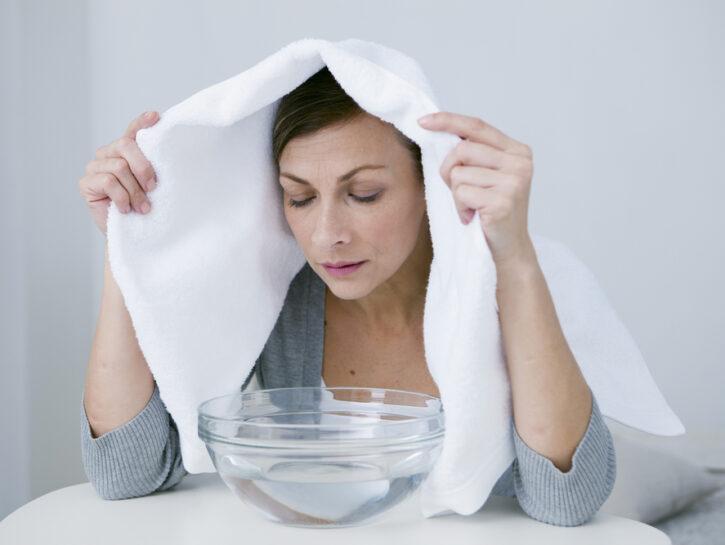 Suffumigi per sinusite