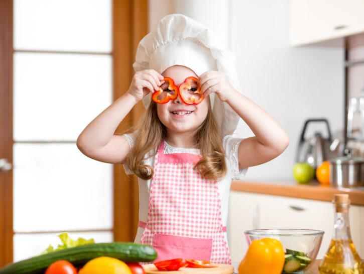 Dieta vegetariana bambini
