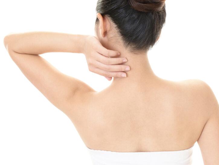 spalle schiena stress