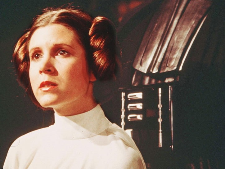 Carrie Fisher attrice