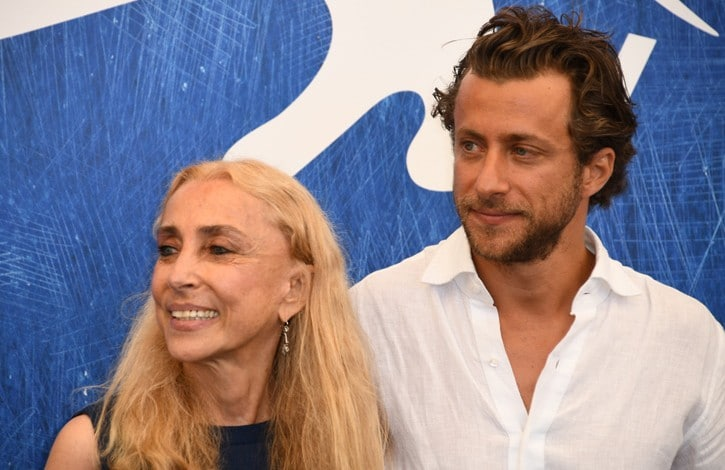 Franca Sozzani e Francesco Carrozzini