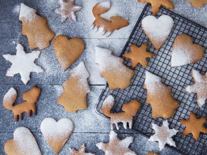 Pepparkakor biscotti speziati senza burro
