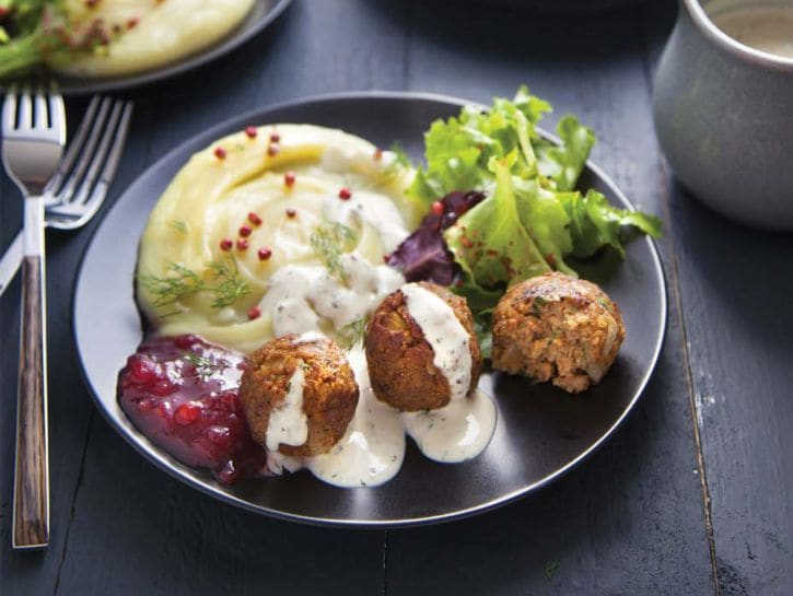 Polpette svedesi vegetariane