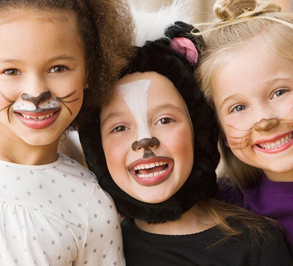 Truccare i bimbi per Carnevale