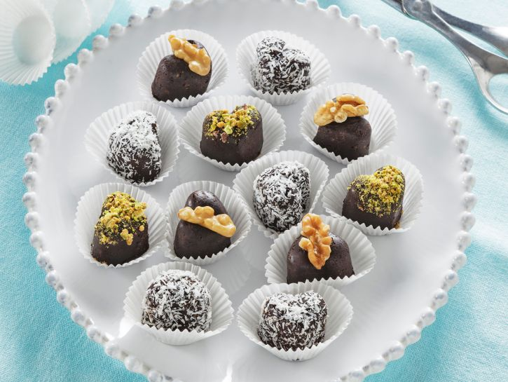 Cioccolatini fatti in casa senza cottura