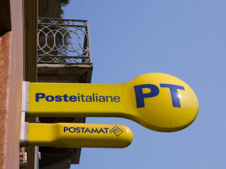 Poste Italiane insegne gialle