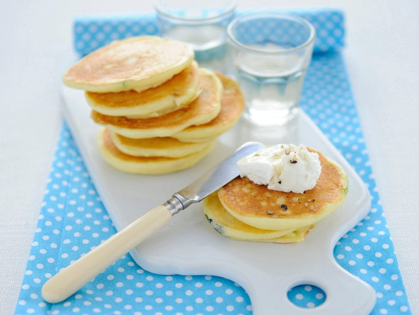 Pancake di ceci senza uova