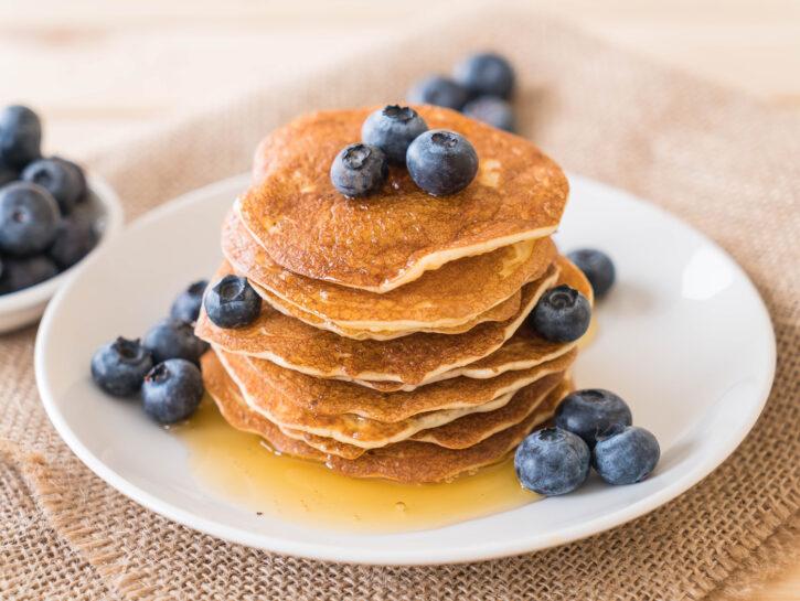 Pancake senza uova - Credits: Shutterstock