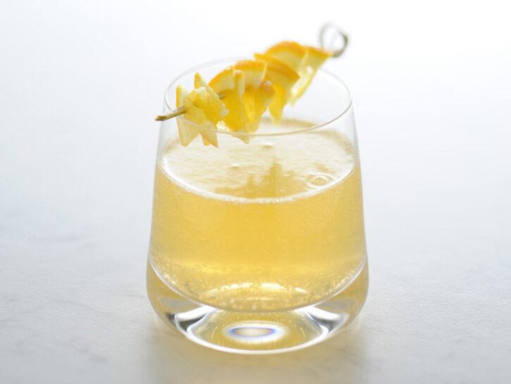 Cocktail mimosa all'arancia