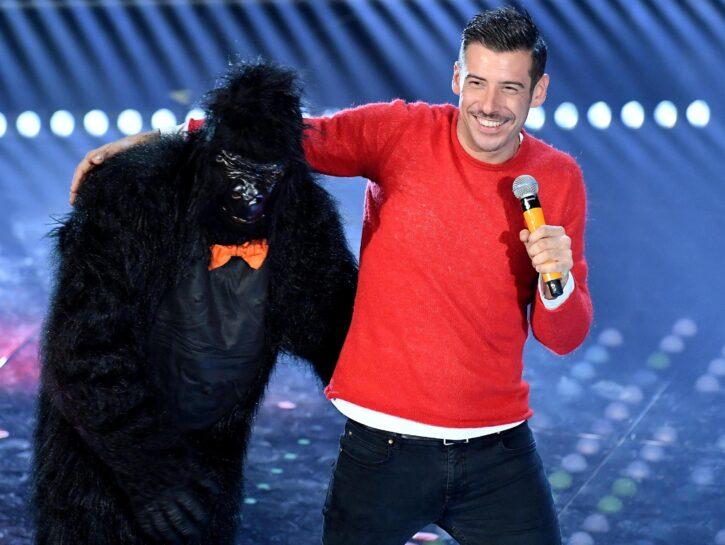 Francesco Gabbani gorilla Sanremo 2017