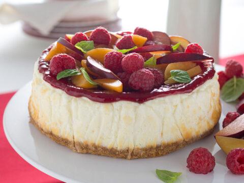 Cheesecake light senza biscotti