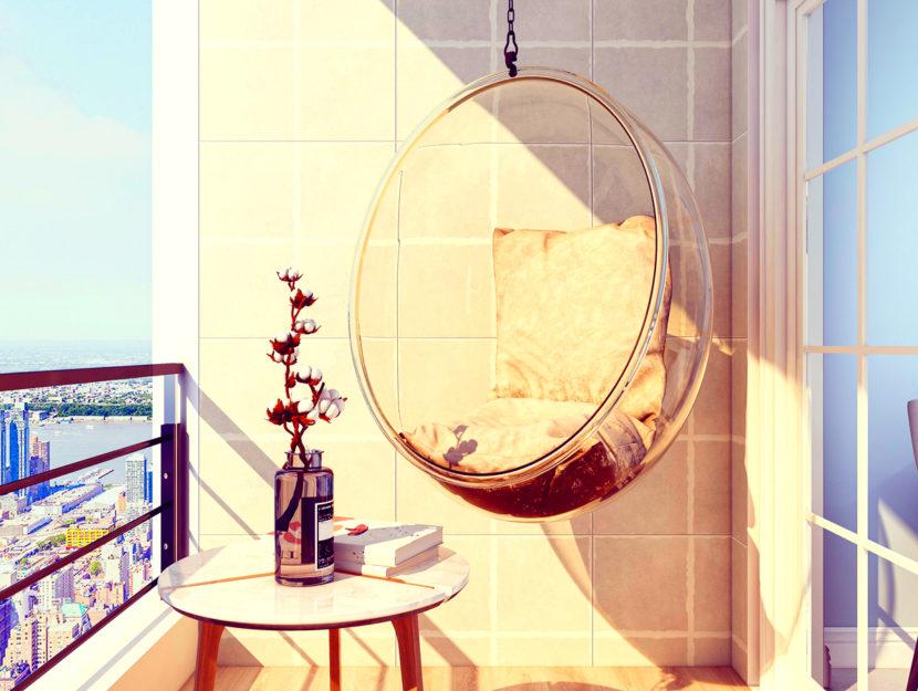 Idee geniali per arredare un balcone piccolo