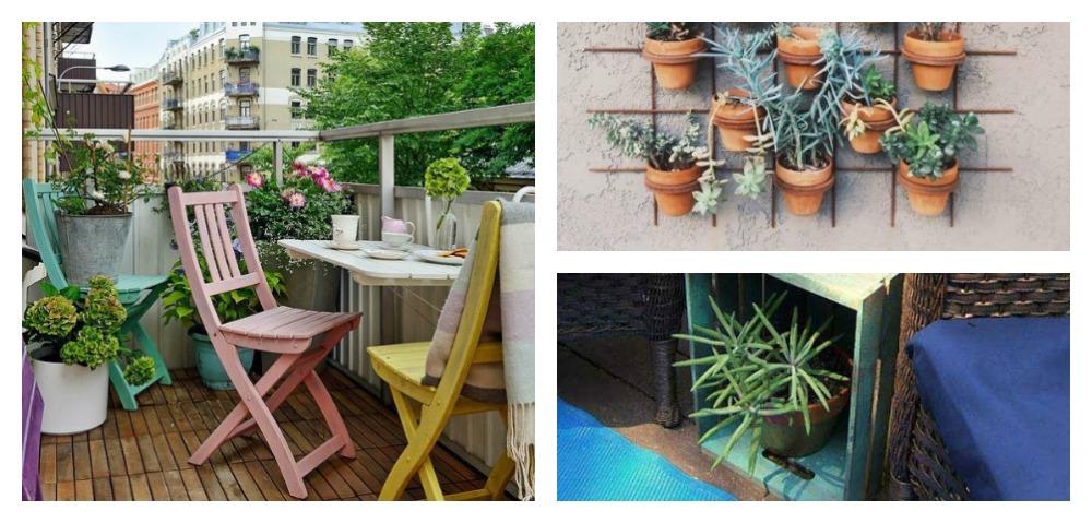 20 idee per arredare un terrazzo spendendo poco
