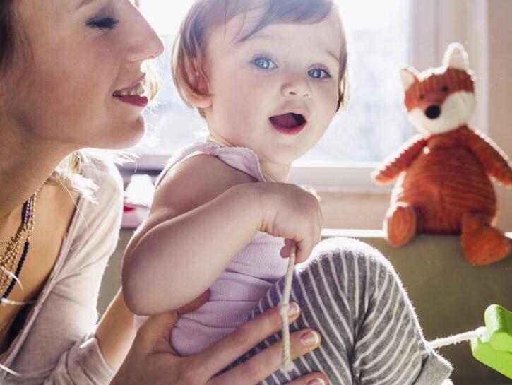 Felicità genitori figli