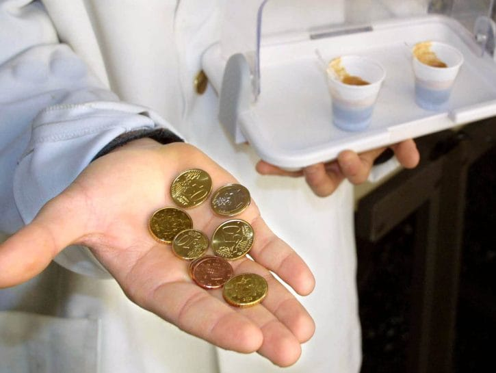Resto centesimi di euro monete