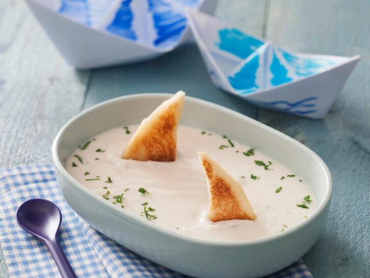Finta zuppa di pescecane