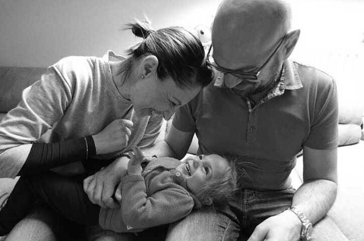 sveva moretti disabile con mamma e papà