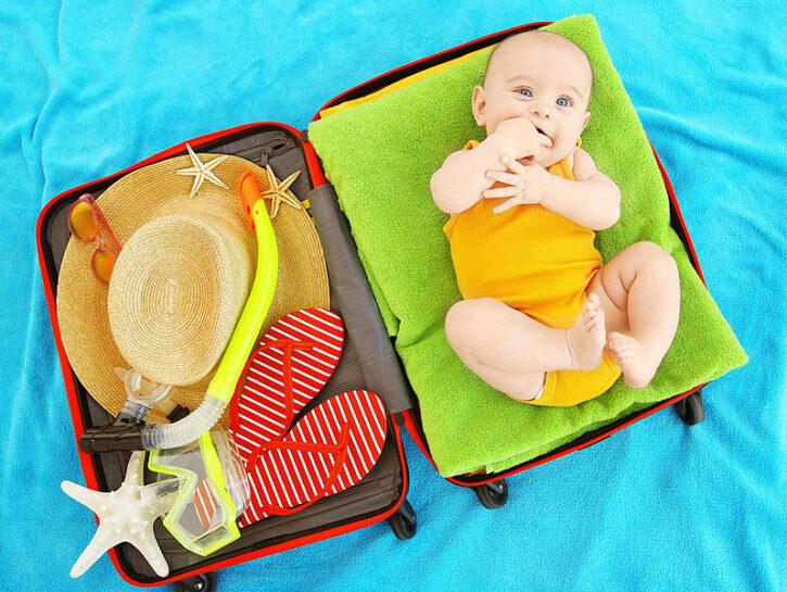 vacanza neonato