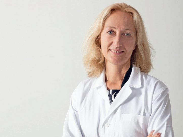 Silvia Priori scienziata