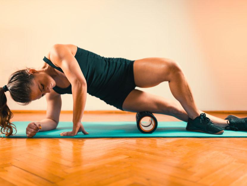 foam roller esercizi