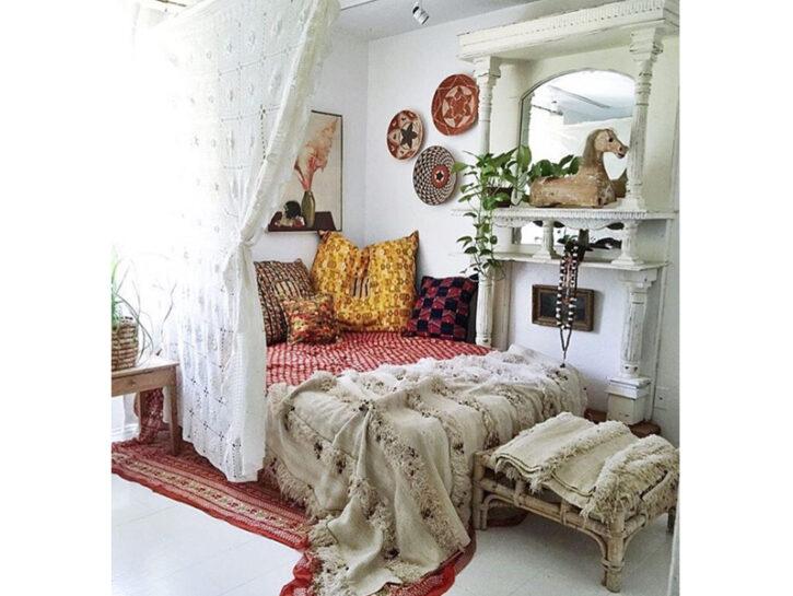 Una Casa Boho Chic Donna Moderna