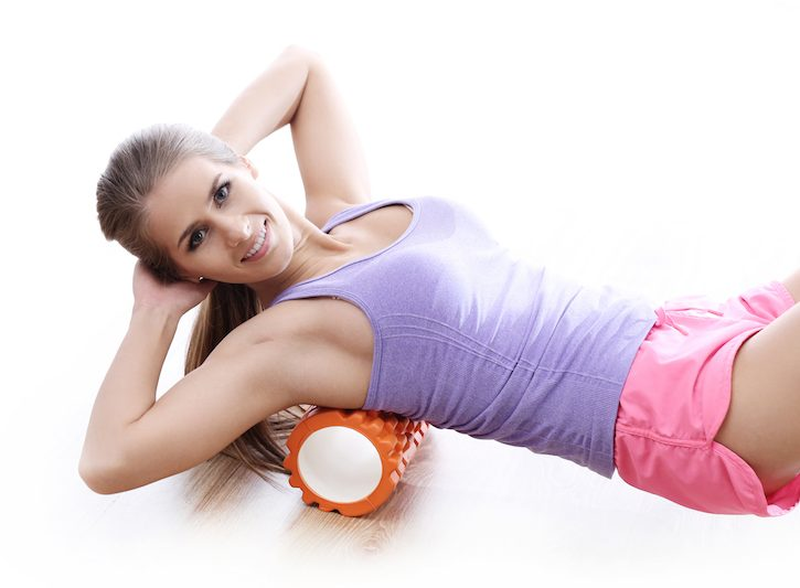 Foam roller: esercizi per la schiena