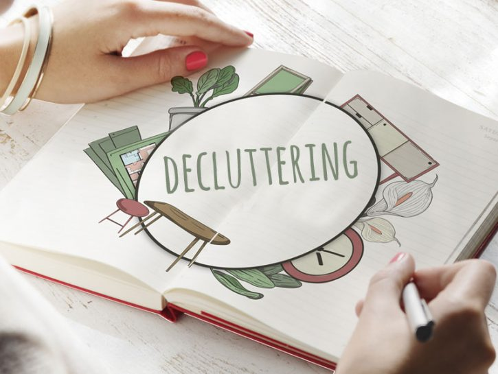 Decluttering: come liberarsi del superfluo
