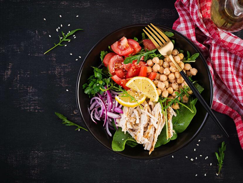 ricette insalate di legumi