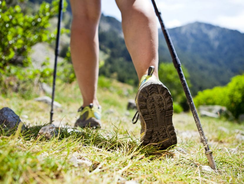 nordic walking trekking camminata