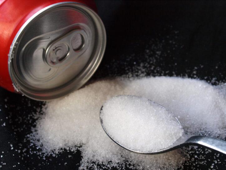zucchero bibite infiammazione