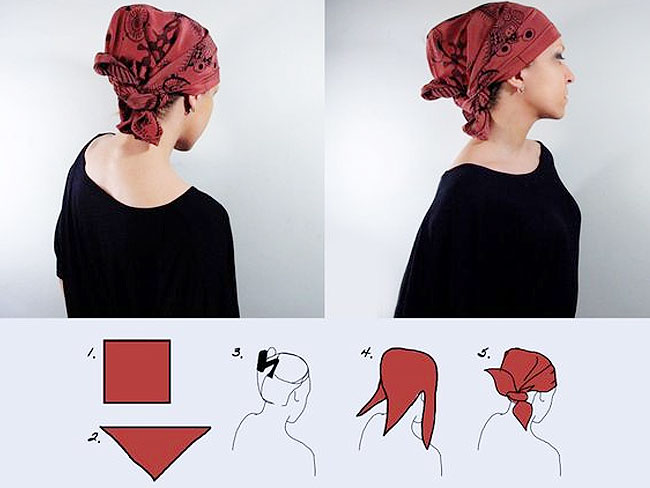 foulard quadrato
