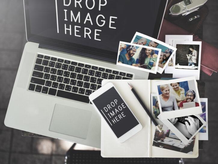 Foto online computer fotografie