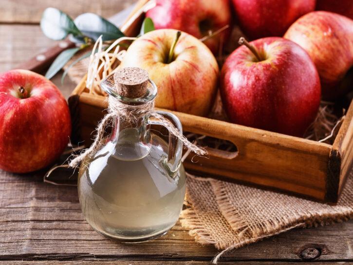 usi aceto di mele per la bellezza