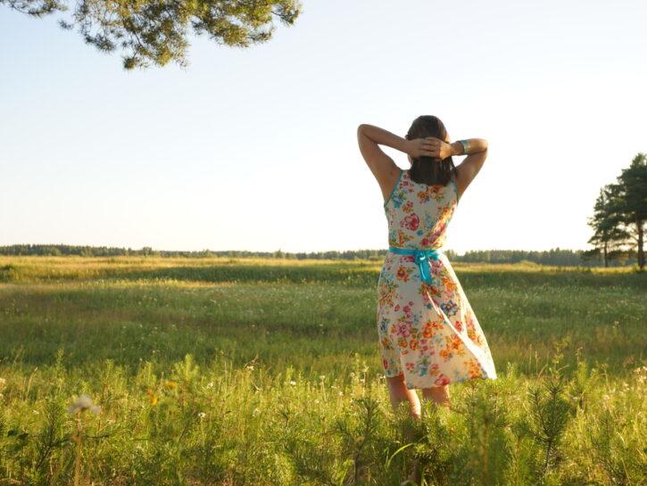 pace interiore e camminata
