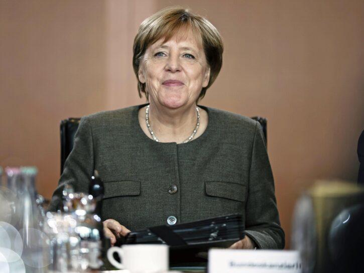 Angela Merkel cancelliera 2017