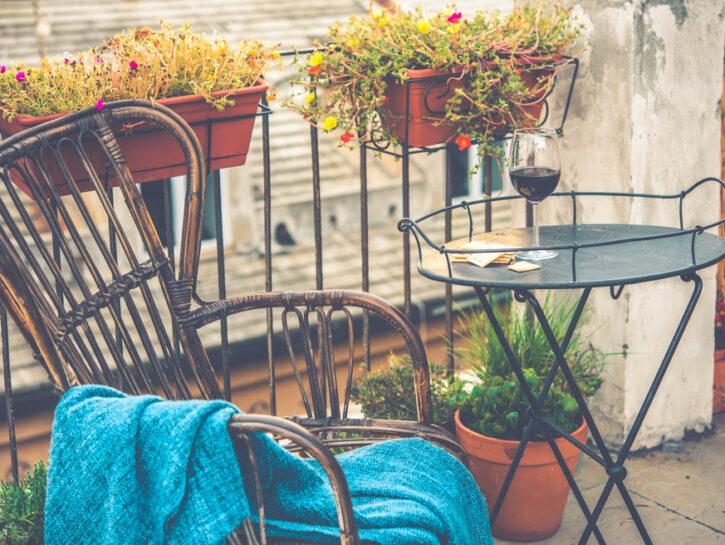 idee autunno balcone