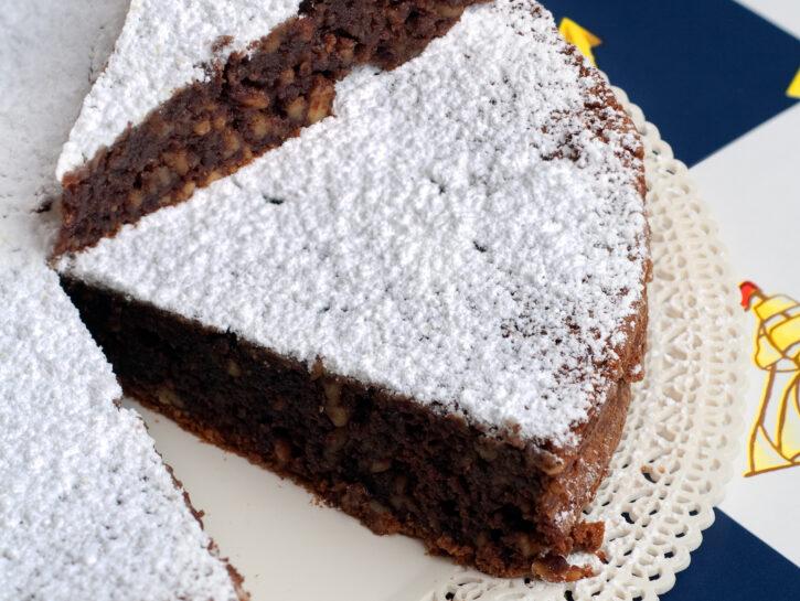 torta caprese con il bimby