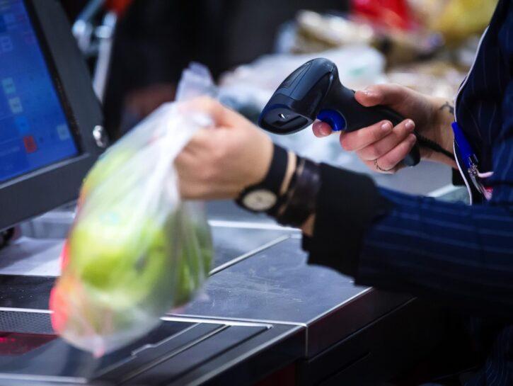 Sacchetto frutta verdura supermercato