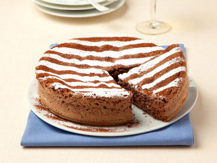 Torta 7 vasetti nutella