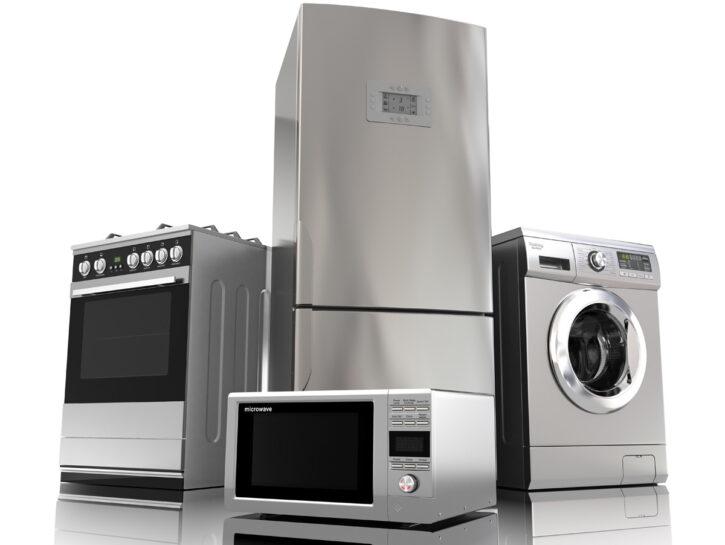 Elettrodomestici lavatrice frigorifero fornello