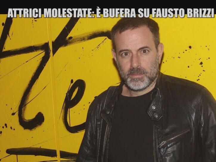 Il regista Fausto Brizzi in uno screenshot del servizio andato in onda a Le Iene