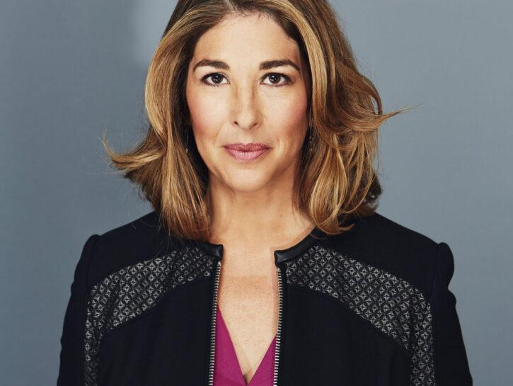 La giornalista e scrittriceNaomi Klein