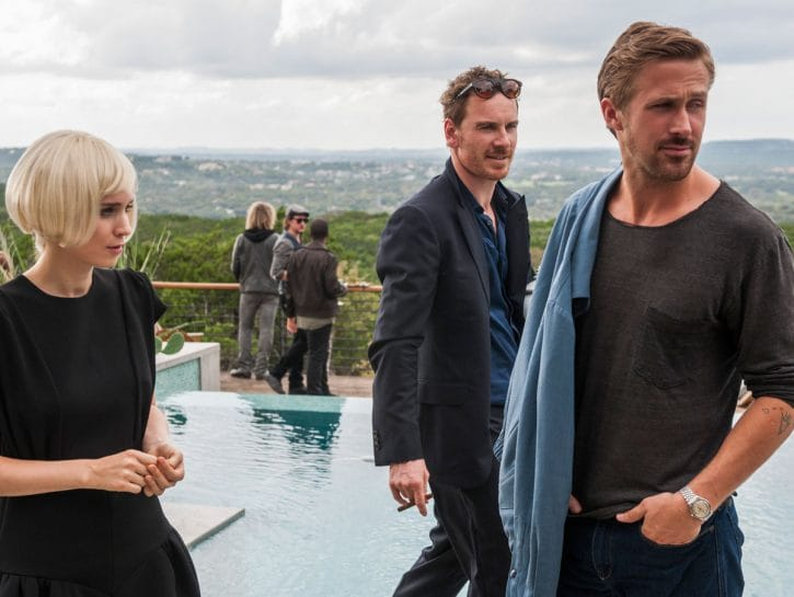 """Rooney Mara, Michael Fassbender e Ryan Gosling in """"Song to song"""", il film diretto da Terrence Malick"""