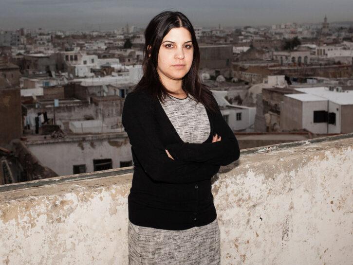 Lina Ben Mhenni, attivista tunisina, è stata candidata al Nobel per la Pace nel 2011